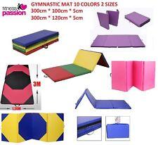 Super Large 300cm x 120 100cm Gymnastics Folding Gym Yoga Exercise Mat!!