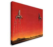 Salvador Dali - Th Elephants Wall Art Prints Canvas Art Cheap
