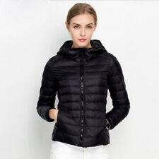 Ultralight Womens Duck Goose Down Winter Jacket Warm Puffer Coat Packable 2019