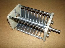 75 pF 6KV Variable Air Capacitor  made by Jackson Brothers,part no - 5720/9 NEW
