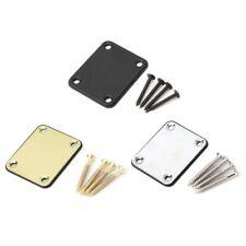 Electric Guitar Neck Plate Fix Tele Telecaster Neck Guitar Joint Board 4 Screws