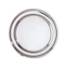 Sambonet Contour Plato redondo acero plata