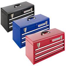 Arebos Werkzeugkoffer 3 Schubfächer Werkzeugkasten Werkzeugbox Werkzeugkiste