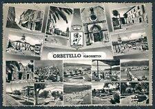 Grosseto Orbetello foto cartolina B1215 SZG