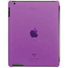 Frutos de cascara Transparente Morado basecase Para Ipad 2 Apple Smart Cover Compatible RRP £ 20