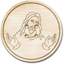 'Jesus Christ' Wooden Buttons (BT018955)