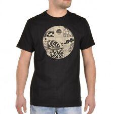 Billabong Wavestar té t-shirt camisa negro señores motivo surf z1ss31 bif6 19