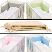 Nestchen Bettumrandung Baby Kopf Stoß Schutz Bett Kantenschutz Kinder 190x30cm