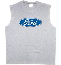 Men's sleeveless shirt Ford motor company trucks racing muscle tee tank top