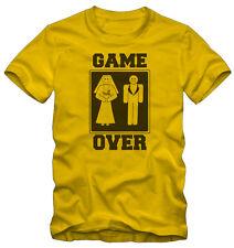 T-shirt /Maglietta  Game Over Marriage Matrimonio Kraz Shop