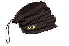 Thermo Neckwarmer Halstuch mit Merinowolle Outdoor schwarz