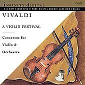Vivaldi A VIOLIN FESTIVAL CONCERTO CD