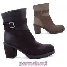 Botas tejanos bajo cinturón hebilla zapatos botas de mujer nuevo Y1632