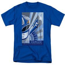 Power Rangers Blue Ranger Deco T-shirts for Men Women or Kids