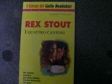 I CLASSICI DEL GIALLO MONDADORI N. 730- I QUATTRE CANTONI-REX STOUT