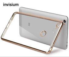 INVISIUM Electroplated Slim Soft Gel TPU Case Cover for Xiaomi Mi5 Mi5s Mi Max