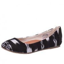 Reef Tropic Ballerina Schuhe Sommerschuhe Black/white 8002