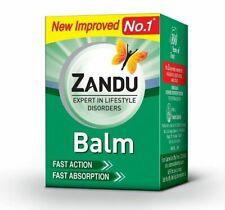 Zandu Balm / Ultra Power Gel Balm Headache BodyPain Cold Strain Relief