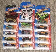 HW '11 THRILL RACERS VOLCANO, CAVE, DESERT, RACEWAY, HIGHWAY, JUNGLE, ICE  B- 70