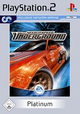 Need for Speed: Underground Platinum ps2 PLAYSTATION 2
