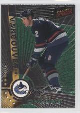 1997 Pacific Dynagon Silver #Rookie Mattias Ohlund Vancouver Canucks Hockey Card