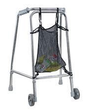 NET BAG FOR ZIMMER WALKING FRAME - Net bag for walking frame and wheelchairs.