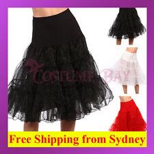Retro Rockabilly Petticoat Burlesque Tulle Tutu Swing Vintage Costume Underskirt