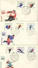 Poland FDC Scott 1198-05 Michel 1457-64 Olympics