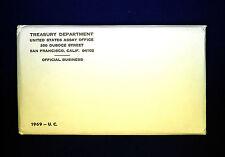 1969 U.S. MINT SET. ISSUED BY US MINT. Envelope Sealed / Unopened