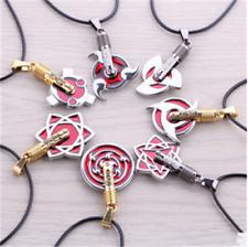 Hot Naruto Uchiha clan Pendant necklace Naruto Write round eyes Cosplay Gift