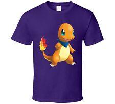 Pokemon Charmander Fun T Shirt Unisex Novelty Nintendo Go Fashion Kids Tee New