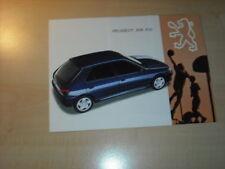 20589) Peugeot 306 XSi Prospekt 1993