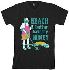 Beach Better Have My Money Men's T-Shirt Metal Detector