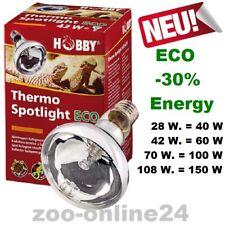 Hobby-Thermo-Spotlight ECO 28-42-70-108-150 Watt UV-A Terrarium-Lampe Wärmelampe