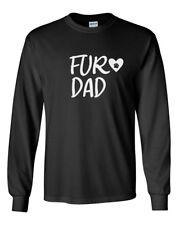 Men's Fur DAD T-Shirt Dog Father Pet Lover Gift Ideas Christmas Tee Daddy Shirt
