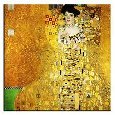 Gustav Klimt-Bild Leinwand-Kunstdruck Große 80x80cm