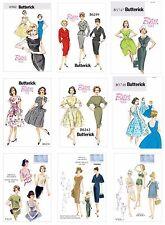 Vogue Butterick Sewing Patterns Retro Vintage 1960s Dress Swimwear Jackets Tops