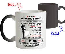 Magic Mug Love Gift for Wife I Love You Forever and Always Coffee Mug Tee Cup