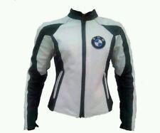 Dames BMW Sports Cuir Veste Courses Cuir Biker Veste Femmes BMW Moto Cuir Veste
