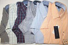 New TOMMY HILFIGER Men's Plaid Casual Shirt Short Sleeve, S,M,L,XL, NWT