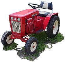 Wheelhorse 953 Lawn and Garden tractor canvas art print by Richard Browne