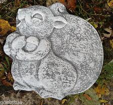 plaster,concrete abs plastic squirrel plaque mold