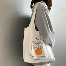 Female Tote Large Shopping Bags Foldable Eco-friendly Shoulder Handbag Portable