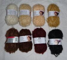 Boucle Wolle, Wolle mit Mohair , Haare für Stoffpuppen, Kuschelpuppen, Engel usw