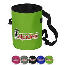 Alpidex Chalkbag m Hüftgurt Bauchgurt Chalk Bag Klettern