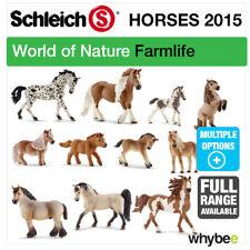 NEW! SCHLEICH 2015 RANGE OF HORSES PONIES FIGURES FARMYARD TOYS & HORSE FIGURINE