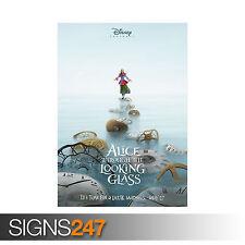 Alice attraverso lo specchio Film (1105) foto stampa poster art * Tutte le Taglie