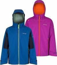 Regatta Hipoint Stretch II Kids Jacket Girls Boys Waterproof Shell Coat