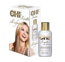 Farouk CHI Keratin Silk Infusion Damaged Dry Hair Treatment Serum Repair 15ml UK
