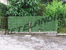 SIEPE FINTA ARTIFICIALE SINTETICA arella ombreggiante con foglie per recinzioni